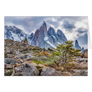 Laguna Torre El Chalten Argentina Card