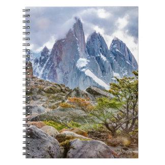 Laguna Torre El Chalten Argentina Notebooks