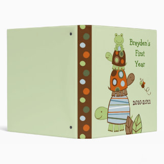 Laguna Turtle Frog Baby Photo Album Scrapbook Binder