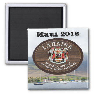 Lahaina, Maui (customizable) Magnet