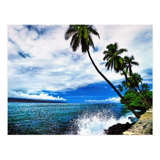 Lahaina Ocean Spray Postcard