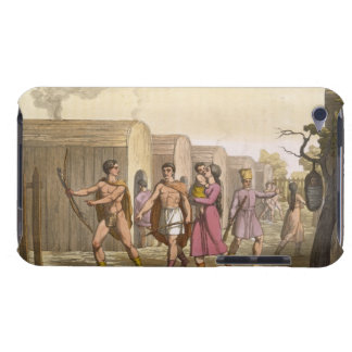 Lahoutan Indians, Canada (colour engraving) iPod Touch Cover