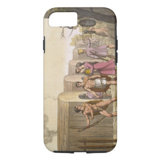 Lahoutan Indians, Canada (colour engraving) iPhone 7 Case