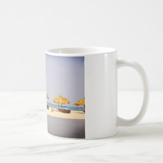 Laid back beach day coffee mug