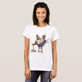 Laid Back Hen T-Shirt