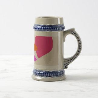 Laid Flower Mugs