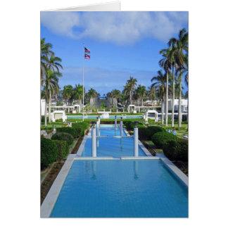 Laie, Hawaii Mormon Temple Card