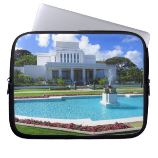 Laie, Hawaii Mormon Temple Laptop Sleeve