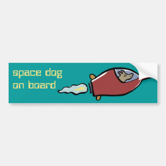 laika customizable bumper sticker