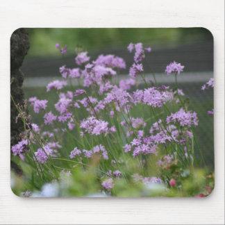 L'ail décoratif fleurit mousepad tapis de souris