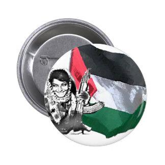 Laila Khaled 2 Inch Round Button