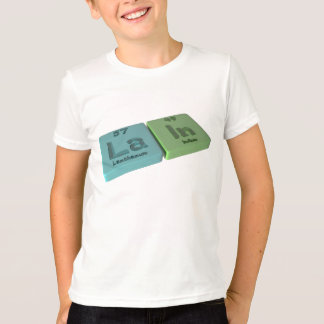 Lain as La Lanthanum and In Indium T-Shirt