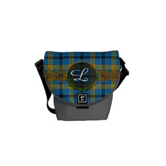 Laing Tartan And Monogram Messenger Bag