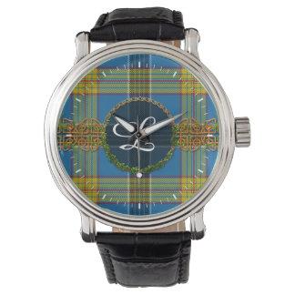 Laing Tartan And Monogram Wristwatches