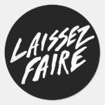 LAISSEZ FAIRE STICKERS