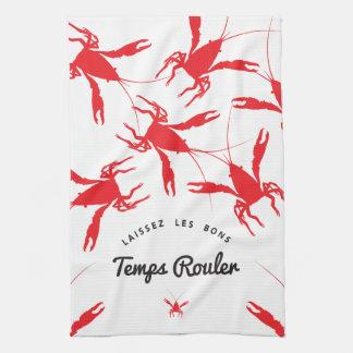 Laissez Les Bons Temps Rouler Kitchen Towel