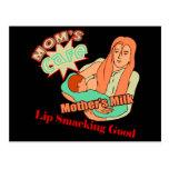 Lait de mères cartes postales
