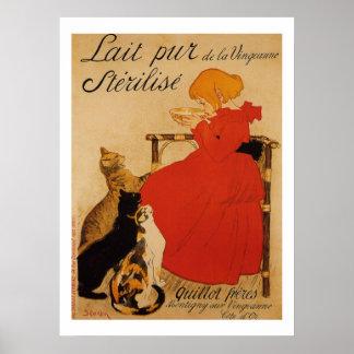 Lait Pur de la Vingeanne Sterilise Poster