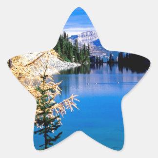 Lake Agnes Park Canada Star Sticker
