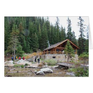 Lake Agnes Teahouse Card