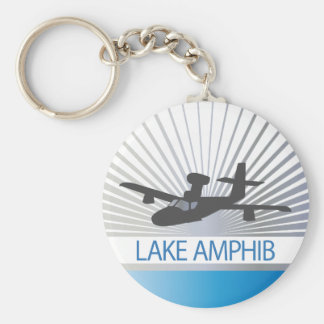 Lake Amphib Aviation Keychain