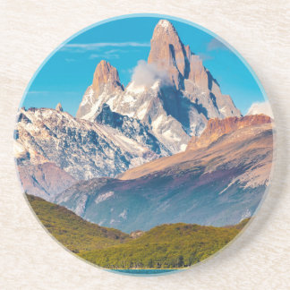 Lake and Andes Mountains, Patagonia - Argentina Coaster