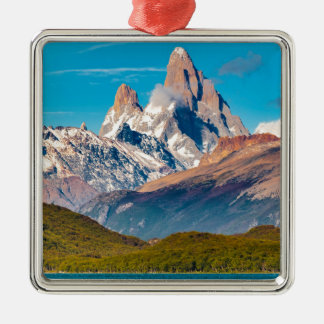 Lake and Andes Mountains, Patagonia - Argentina Metal Ornament