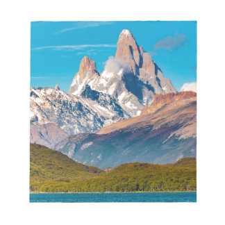 Lake and Andes Mountains, Patagonia - Argentina Notepad