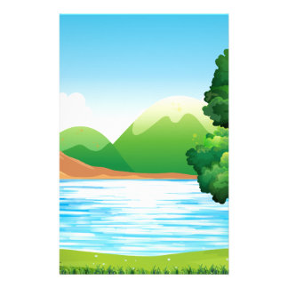 Lake and park stationery