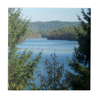 Lake and Trees Tile