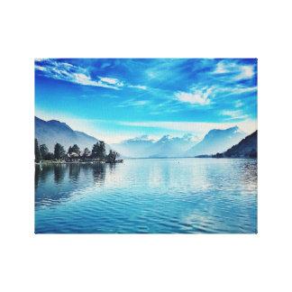Lake Annecy - Baie de Talloires Canvas Print