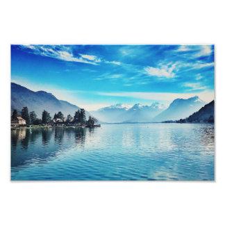 Lake Annecy - Baie de Talloires Print