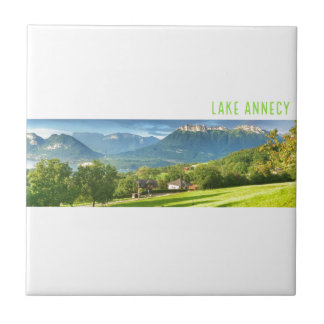 Lake Annecy Ceramic Tile