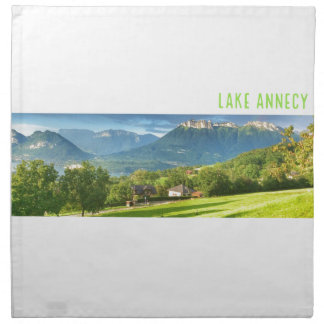Lake Annecy Cloth Napkins