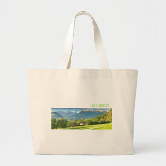 Lake Annecy Large Tote Bag