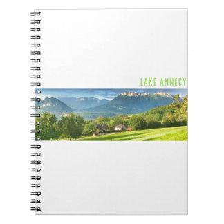 Lake Annecy Spiral Notebook