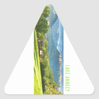 Lake Annecy Stickers (triangle)