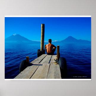 Lake Atitlán, Guatemala Poster