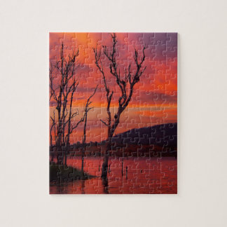 Lake Awoonga sunset jigsaw puzzle