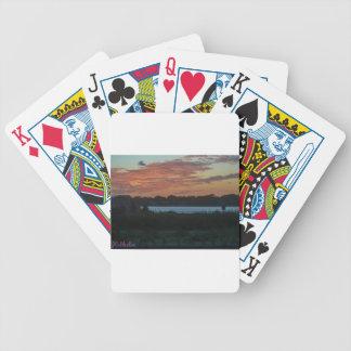 Lake Bicycle Playing Cards