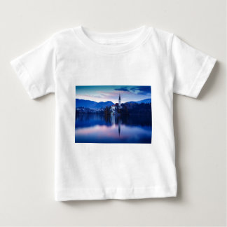Lake Bled and the Island church Baby T-Shirt