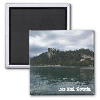 Lake Bled Castle Magnet