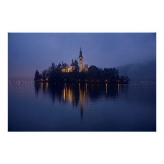 Lake Bled photography by cARTerART Poster