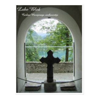 Lake Bled, Slovenia Postcard