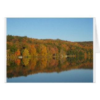 Lake Bomoseen, Vermont Card