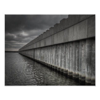 Lake Borgne Surge Barrier Photo Print