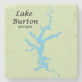 Lake Burton, Georgia, Map Coasters