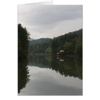 Lake Burton Notecard