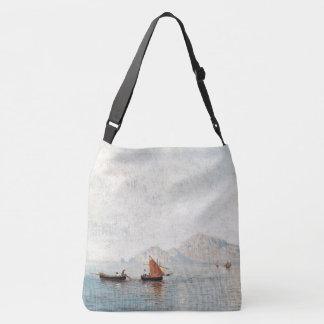 Lake Campanella Boats Mountains Tote Bag
