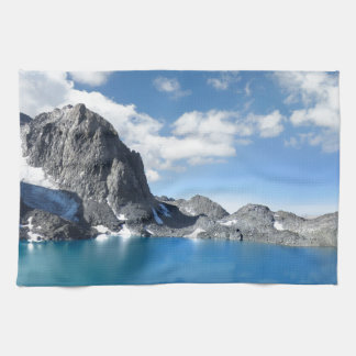Lake Catherine and Banner Peak 2 - Sierra Nevada Hand Towel